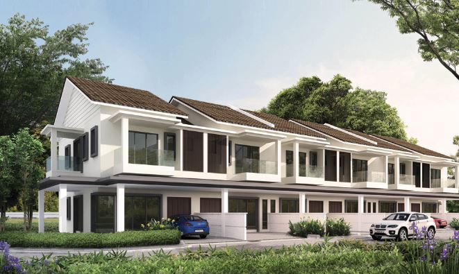 Bluebell terrace houses ipoh perak malaysia property times for Terrace homes