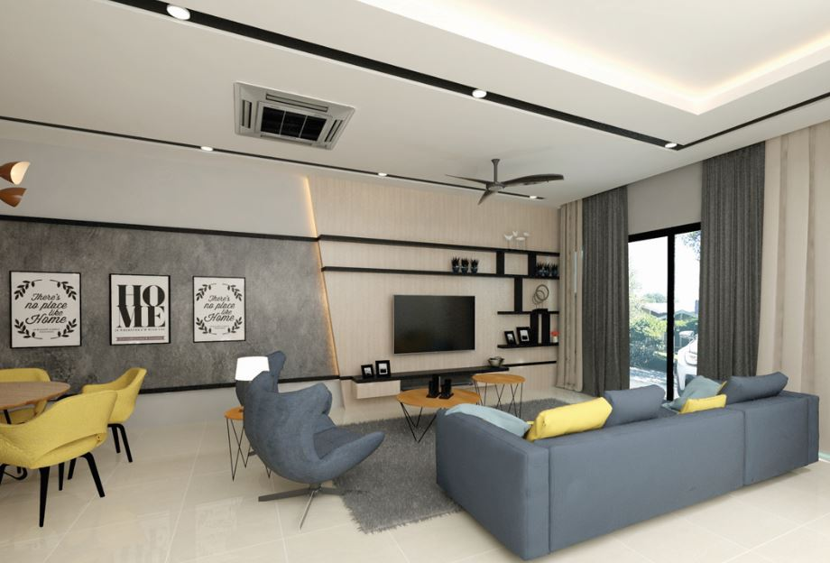 Bluebell Terrace Houses Ipoh Perak Malaysia Property Times